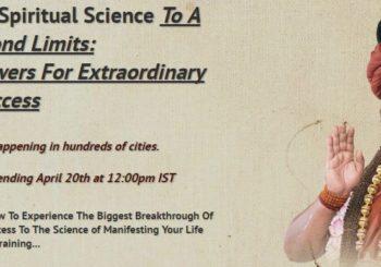 Life Beyond Limits:  Awaken Spiritual Powers For Extraordinary Success